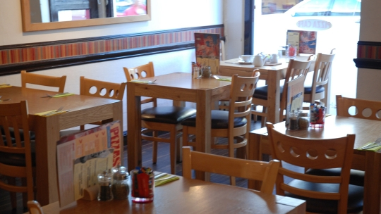 The Pizza Cafe in Newton Abbot