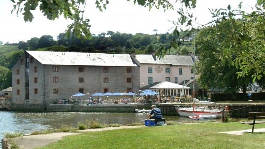 The Steam Packet in Totnes