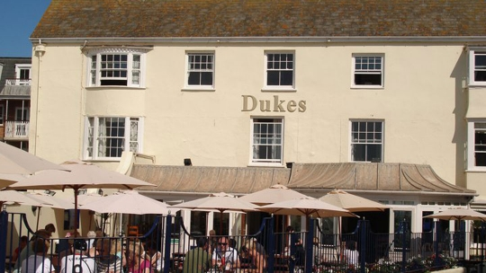 Dukes in Sidmouth