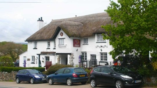 country pub in devon