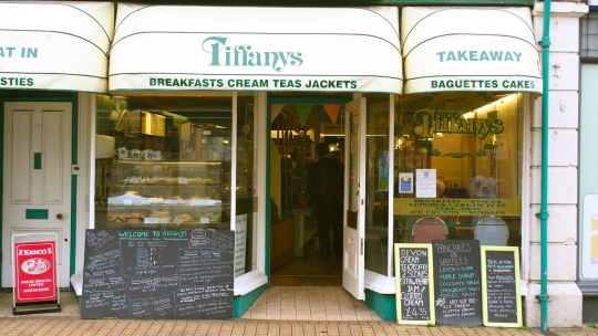 Tiffanys in Brixham