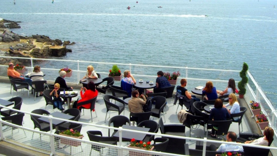 El Cafe on Plymouth Hoe