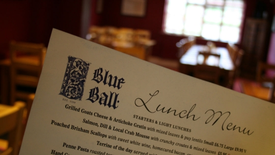 Blue Ball Inn in Exeter
