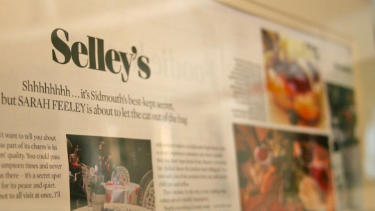 Selleys Coffee Shop in Sidmouth