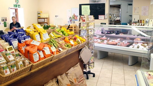 Bartletts Farm Shop in Honiton