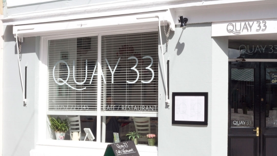 Quay 33 Restaurant in Plymouth