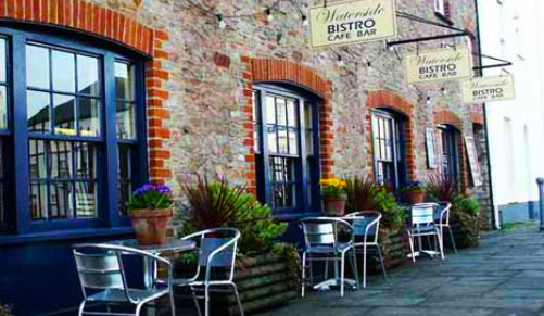 waterside Bistro in Totnes