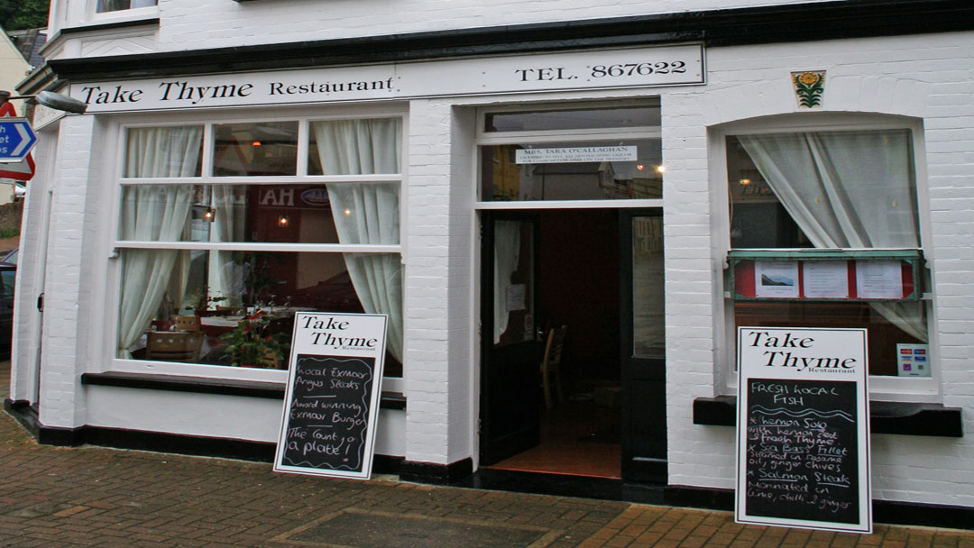 Take Thyme Restaurant in Ilfracombe