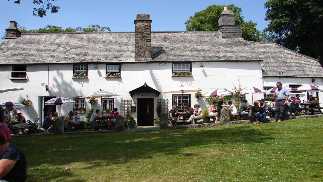 The Royal Oak Inn in Meavy