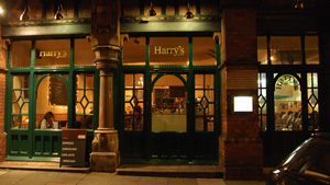 Harrys Restaurant in Exeter